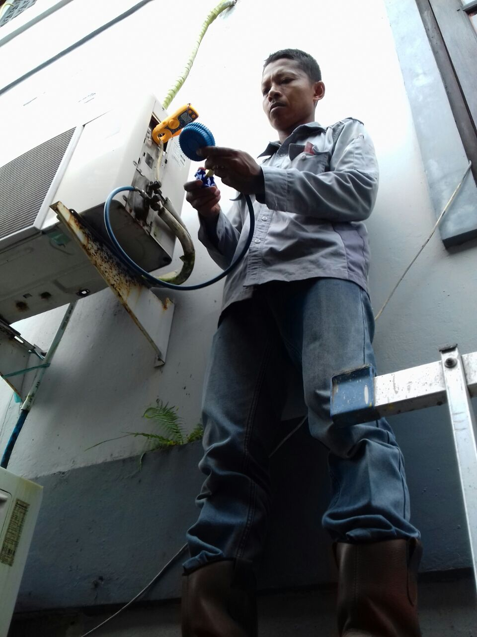 Cleaning Air Conditioning - Customer Bapak Fendi