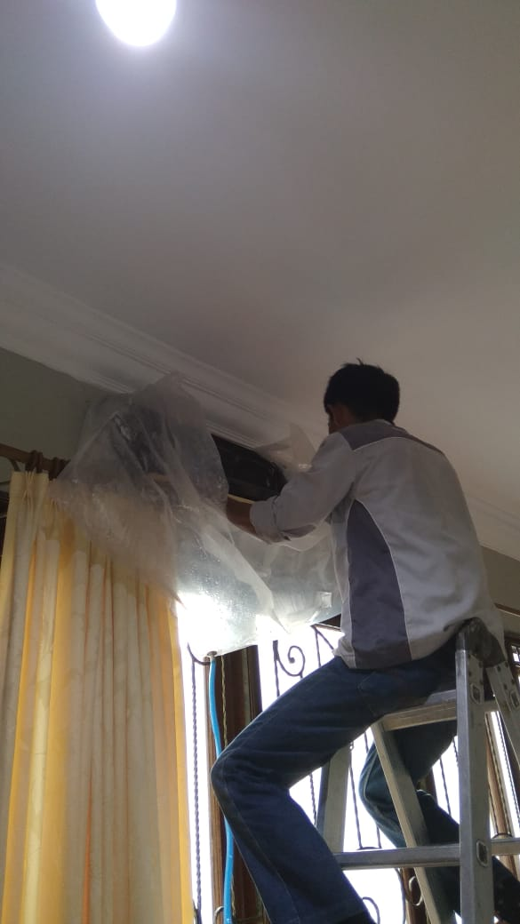 Cleaning Air Conditioning - PT. Nutrisia Sari Husada